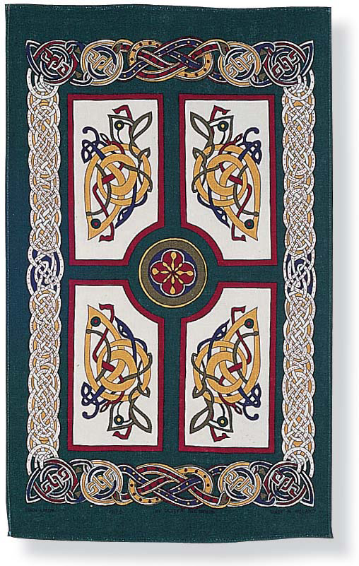Celtic Celebrations/Ireland Irish Linen Tea Towel