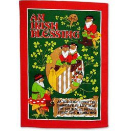 An Irish Blessing Cotton Tea Towel