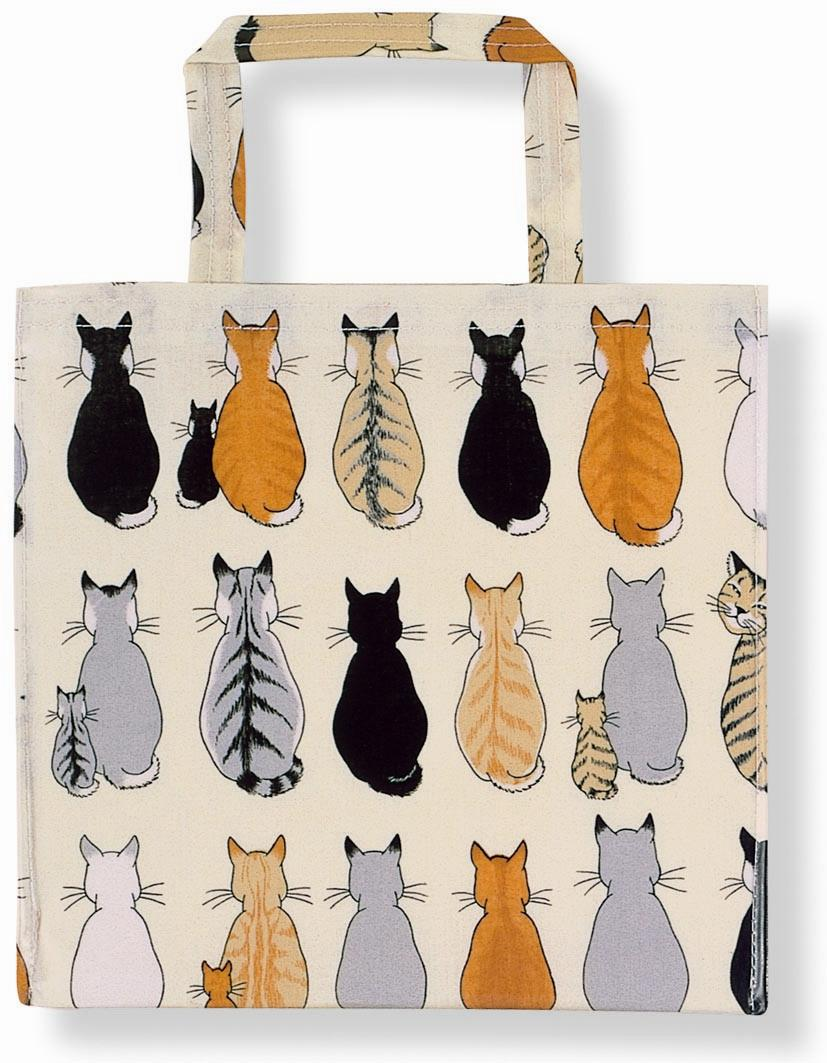 Cats In Waiting Small PVC Bag