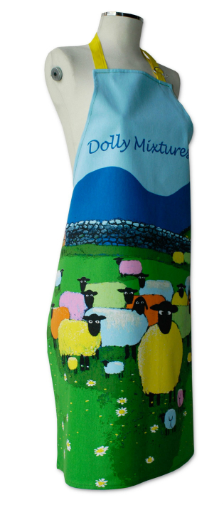 Thomas Joseph Cotton Apron - Dolly Mixtures