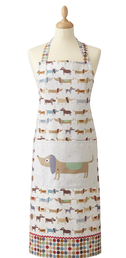 Hot Dogs Cotton Apron