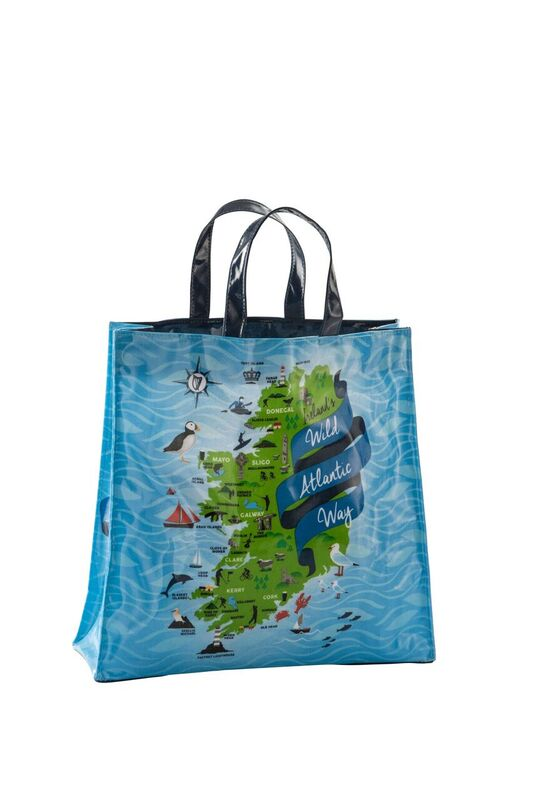 Ireland's Wild Atlantic Way PVC Medium Gusset Bag