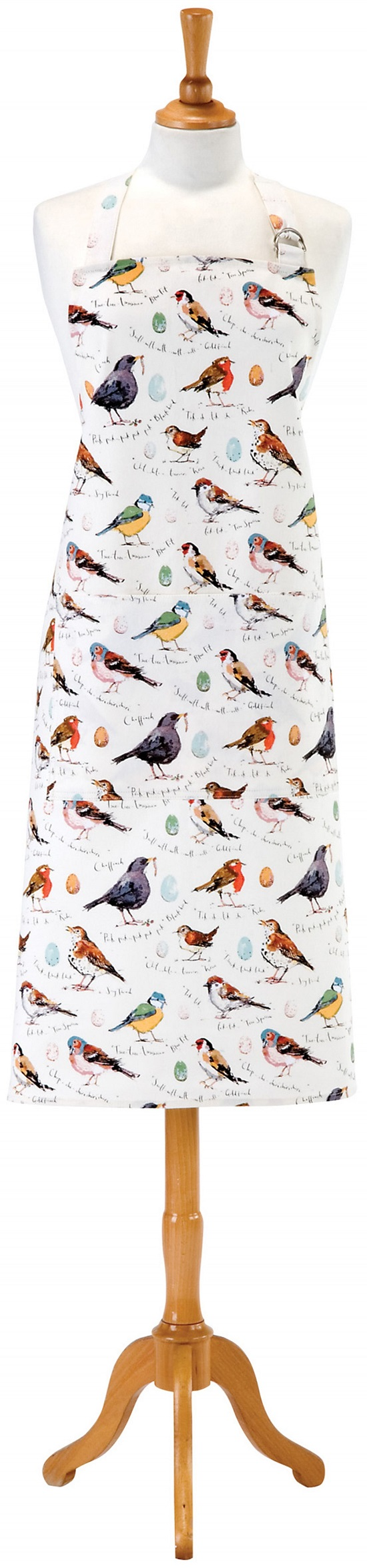 MF Birdsong Cotton Apron