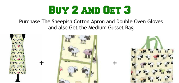 Sheepish - Buy 2 and Get 3 Offer