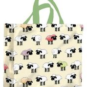 Sheepish PVC Medium Gusset Bag by McCaw Allan