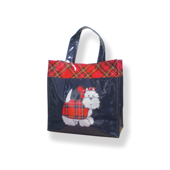 Tartan Terriers PVC Mini Shopping Bag