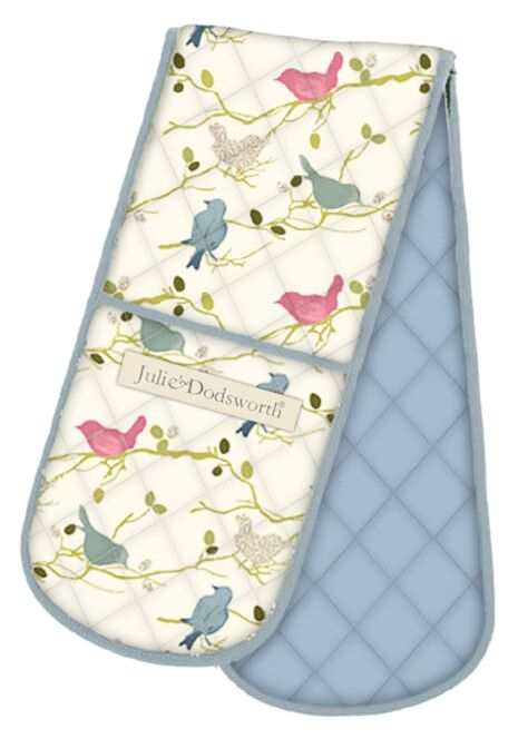 Time To Nest Cotton Double Oven Glove