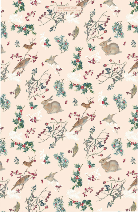 Winter Warmth Cotton Tea Towel