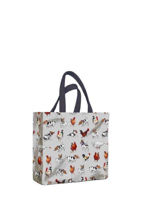 Farmyard Frolics PVC Mini Gusset Bag