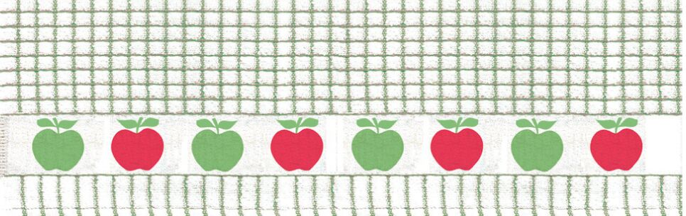 Lamont Poli-Dri Jacquard Tea Towel - Apples