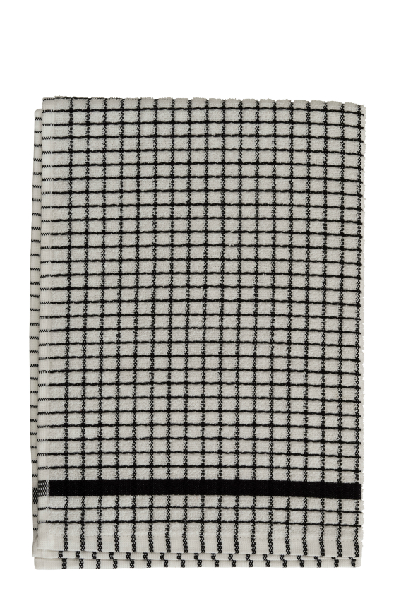Lamont Black Poli-Dri Tea Towel