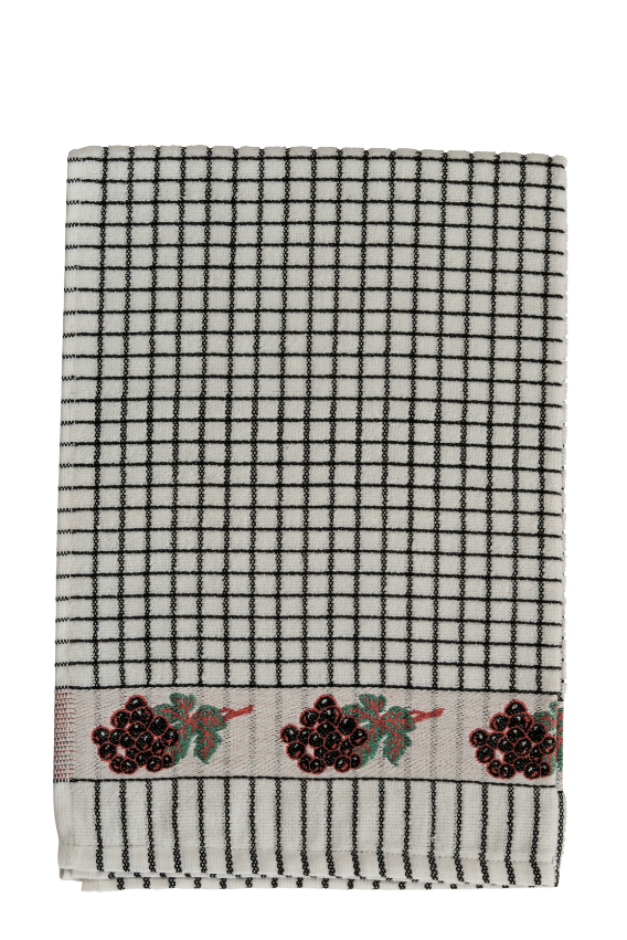 Lamont Poli-Dri Jacquard Tea Towel - Grapes
