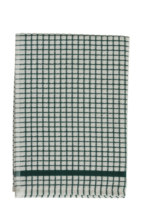 Lamont Hunter Green Poli-Dri Tea Towel - Click Image to Close