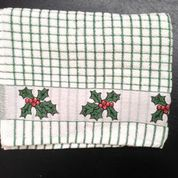 Lamont Poli-Dri Jacquard Tea Towel - Holly
